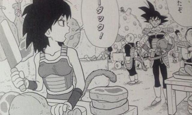 dragon ball minus madre de goku
