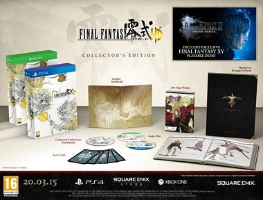 final fantasy type 0 hd collectors edition unboxing
